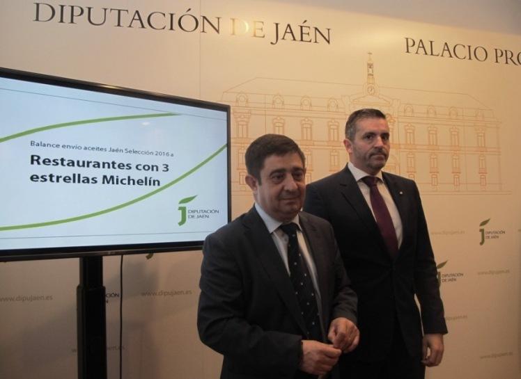 20170315 Balance aceites Jaén Selección 2016 a los restaurantes del mundo tres estrellas Michelín 1