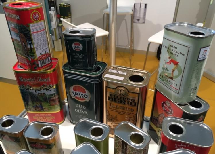 latas aceite