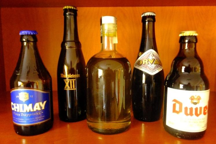 aceite de oliva y cervezas belgas