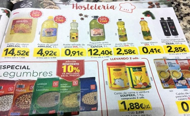 aceites horSTELERIA