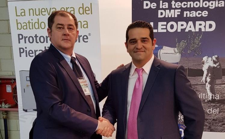 Juan Luis Rodríguez Lavado con Giuseppe Parma REVALMACEITE